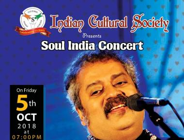 """Soul India"" with HARIHARAN - ICS Kuwait"