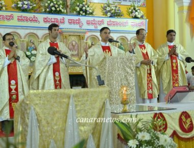 Confraternity Sunday celebrated at Sacred Heart of Jesus Church, Madanthyar