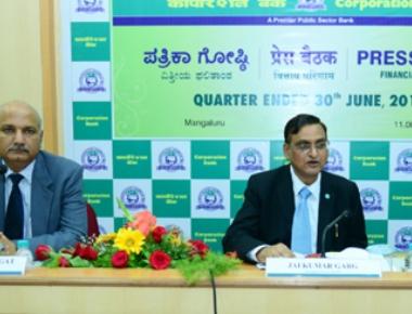 Corporation Bank Q1 net profit rises to Rs. 60 crore