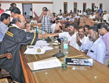 BJP members boycott council meeting