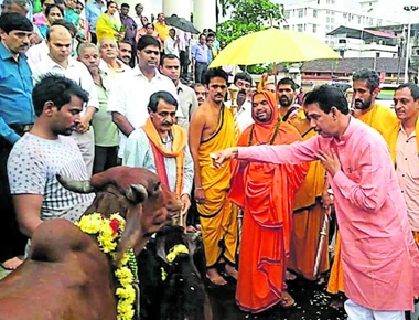 Gau Swarga to be built in DK district