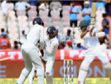 India set Bangladesh a target of 459 to win