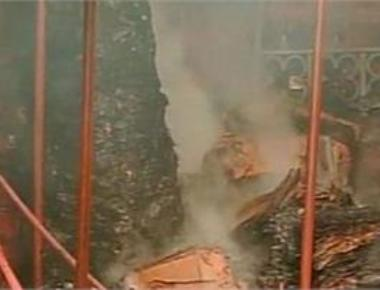 Major fire in South Mumbai's Crawford market