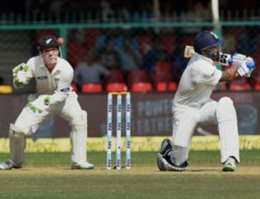 India declare at 377/5, set NZ 434 runs to win