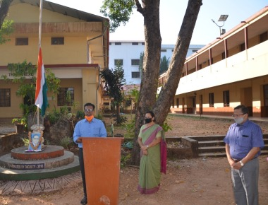 Republic Day celebrated at Crossland