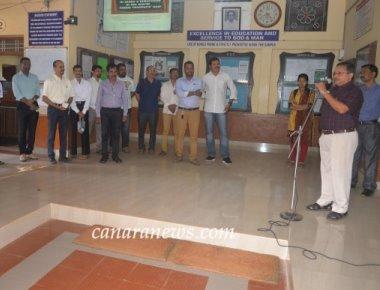 Crossland Brahmavar Alumni chapter felicitate their Teachers