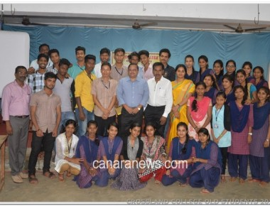 University Level Workshop on  Soft Skills at Crossland College, Brahmavar