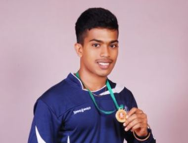 Crosslanders excel: Mr.Vithesh, III B.A secured THREE Gold medals in Power lifting