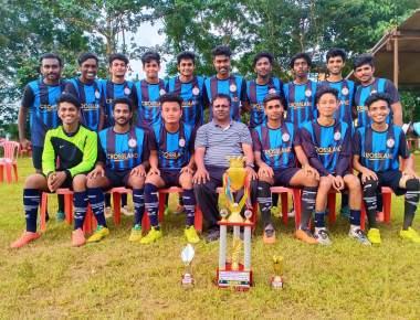 Crossland football team wins Inter collegiate tournament
