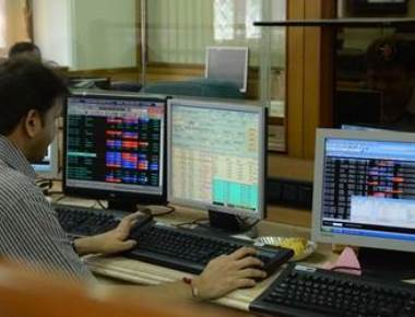 Global cues, weak rupee depress equity indices; rupee hits fresh low