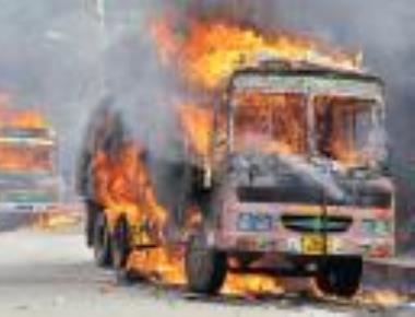 1 killed in firing; curfew in 16 city areas