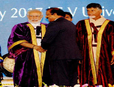 CV Raman Award for Mangalore University Vice Chancellor Prof K Byrappa