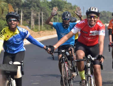 Mangalore Bicycle Club juniors 'Kudla to Goa' ride a success