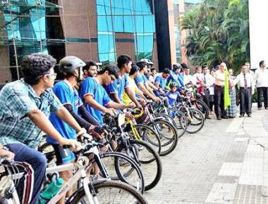 Cyclists complete Tour de Manipal in 48 hours