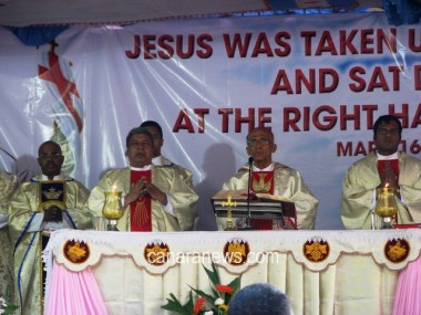 Archbishop Moras Urges All to Emulate Ascension of Jesus
