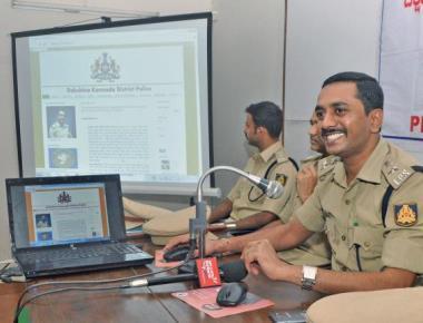 DK police get active on social media