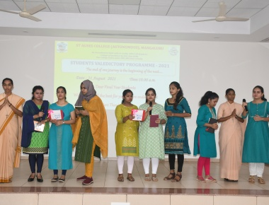 St Agnes College holds Students Valedictory Programme for the Final Year Students