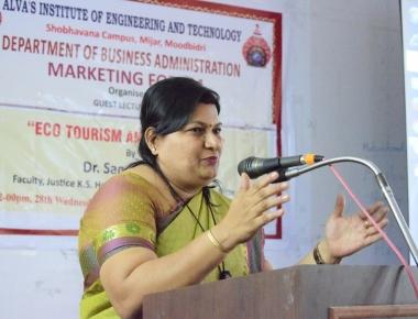 Tremendous Scope for Eco-Tourism in Coastal Karnataka-Dr K P Sandhya Rao, Associate Professor, JKSHIM-Nitte