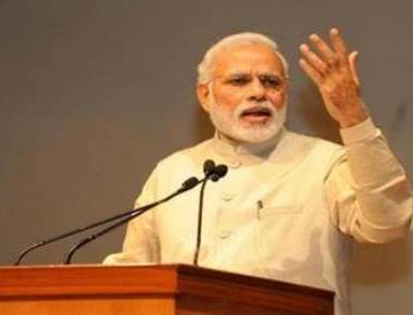 Cannot fight terror with guns only, says Modi