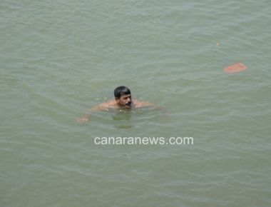 Two youngsters from Delhi drown in Netravati