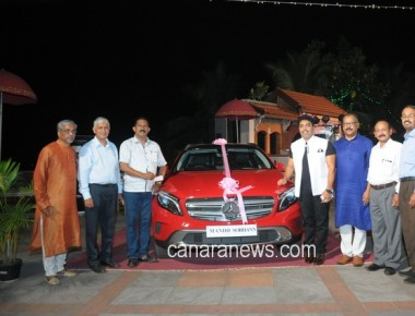 'Debt-Free Abhiyan': Shri Vincent Furtado, Hirebyle, wins the Mercedes Benz Car