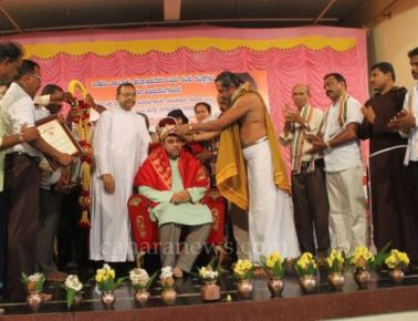 Institutions and people of Kallianpur and Mooduthonse felicitated Pramod Madhwaraj