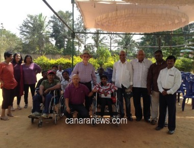 DENZ FOUNDATION distributes 30 wheelchairs in 'LEG for LEGLESS INITIATIVE'