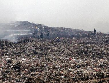 Deonar fire threatens to cloud Make in India week