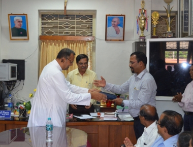 Dr Vincent Alva assumes charge as principal of Milagres College, Kallianpur