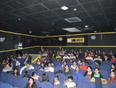 """""""DHAND"""" film created history in Tulu Cinemas with a successful houseful show in U.K"""