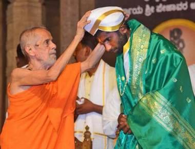 Shreedharananda nominated Dharmadhikari of Savita Samaj Dharma Peetha