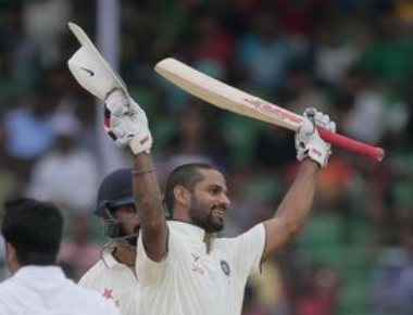 Dhawan-Vijay gives rollicking start as India reach 239/0
