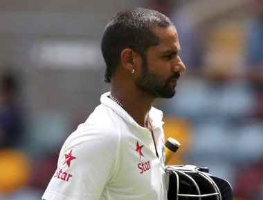Injured Dhawan ruled out of remaining two Tests vs Sri Lanka