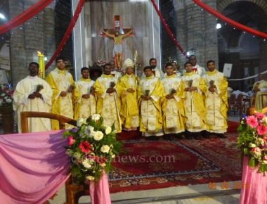 Bangalore Archdiocese Diaconate  and Priestly ordination 2016