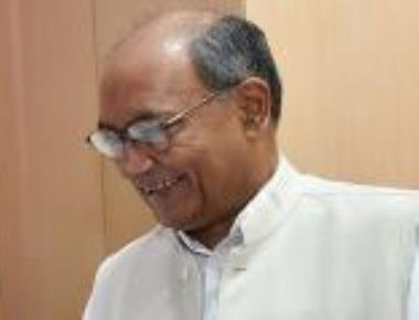 Digvijaya arrives for coordination panel meet