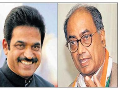 Digvijaya dropped as in charge of Karnataka