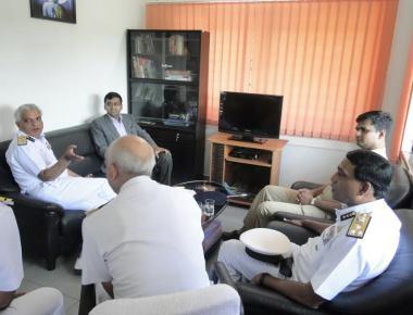 Director General visits Karwar