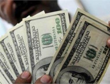 US dollar ends higher against rupee