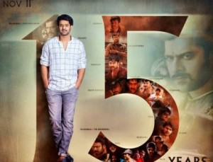 New Poster on Prabhas completing 15 years in the Film Industry.