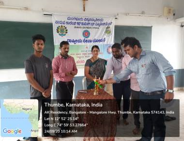 National Service Scheme day celebrated at Padua College of Commerce and Management