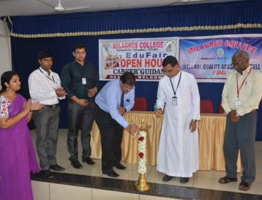 Milagres College organises open house 'Edu Fair'