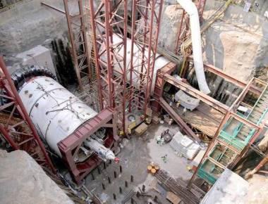 Tunnelling work for Metro 3 begins at Naya Nagar