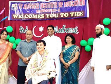 St Aloysius B Ed College holds Eid Mubarak programme
