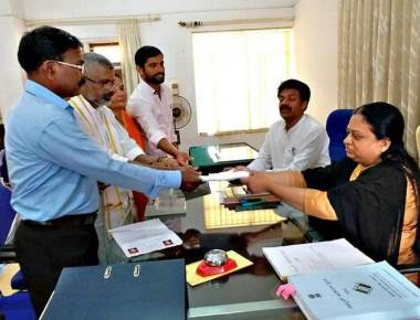 7 candidates submit 13 sets of nomination papers in Udupi