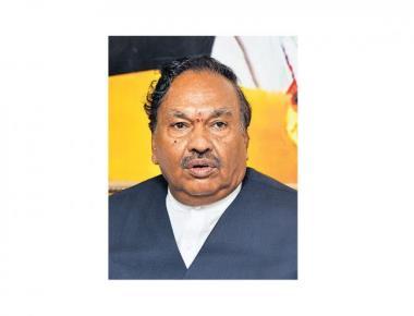 Complaint to ED demands probe into Eshwarappa's 'benami' asset