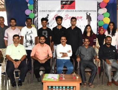 Expert Pre-University College, Kodialbail holds 'Ex-Sangam' meet