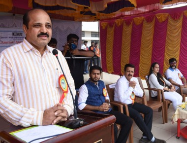 Expert PU College holds annual sports day
