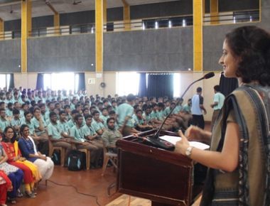 Expert PU College Valachil holds session on 'Handling Exam Stress'