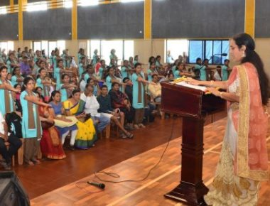 Expert institute holds orientation programme for first PU students, parents