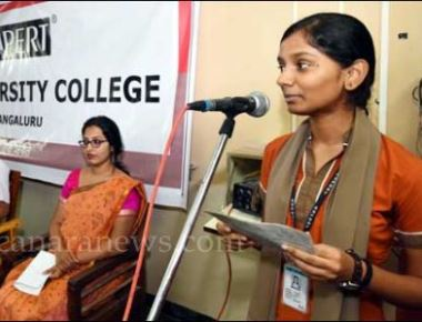 Expert PU College celebrates Gandhi Jayanthi
